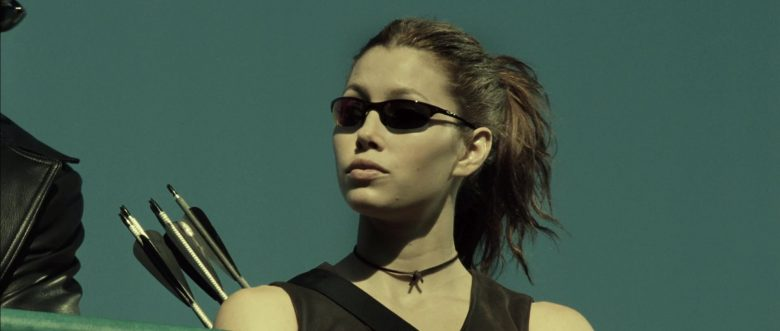 Oakley Sunglasses Worn by Jessica Biel in Blade: Trinity (2004) - Movie Product Placement