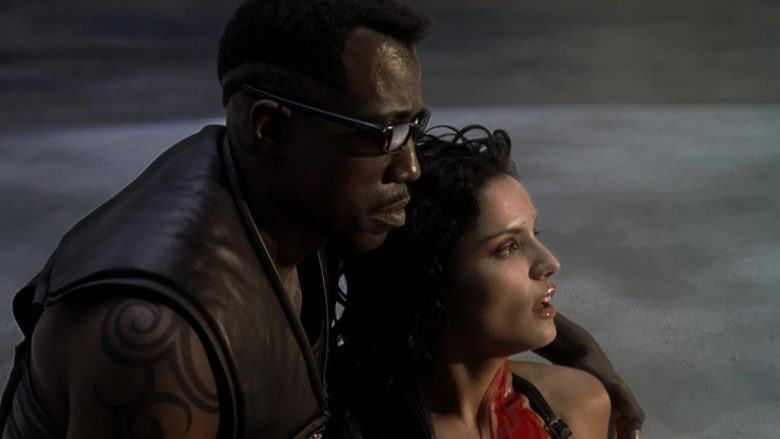 Oakley Sunglasses Worn by Wesley Snipes in Blade 2 (2002) - Movie Product Placement
