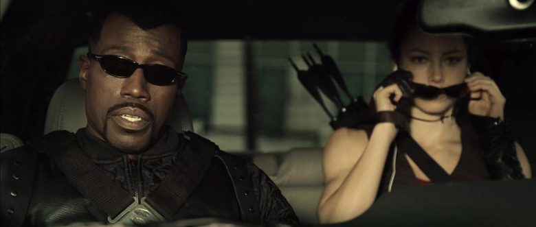 Oakley Sunglasses Worn by Wesley Snipes in Blade: Trinity (2004) - Movie Product Placement