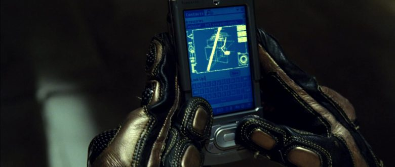 Palm PDA in Blade: Trinity (2004) - Movie Product Placement