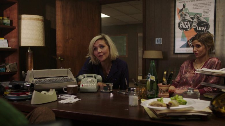 """Perrier Water in The Deuce - Season 3, Episode 1, """"The Camera Loves You"""" (2019) - TV Show Product Placement"""