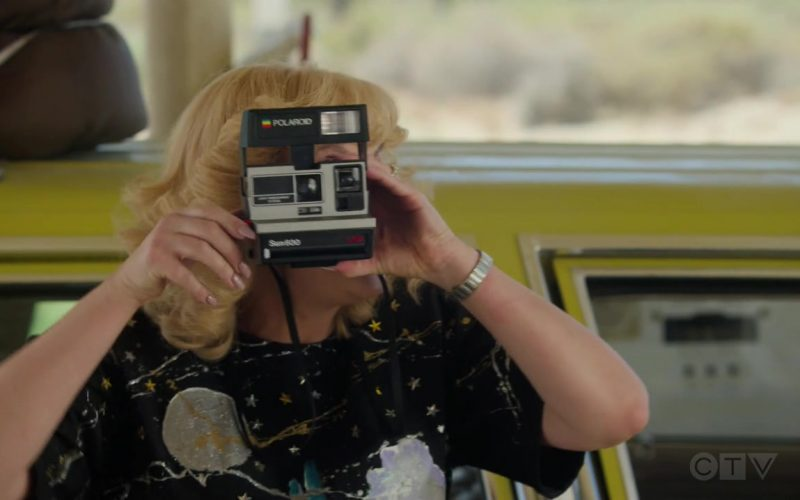 Polaroid Sun 600 Instant Film Camera Used by Wendi McLendon-Covey as Beverly Goldberg in The Goldbergs