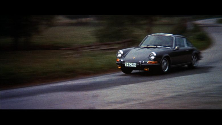 Porsche 911 S Car Used by Steve McQueen in Le Mans (1971) - Movie Product Placement