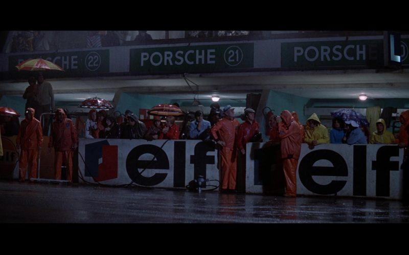 Porsche and Elf in Le Mans (