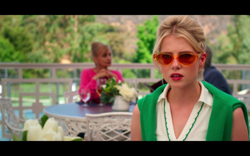 Quay Sunglasses Worn by Lucy Boynton as Astrid Sloan in The Politician (3)