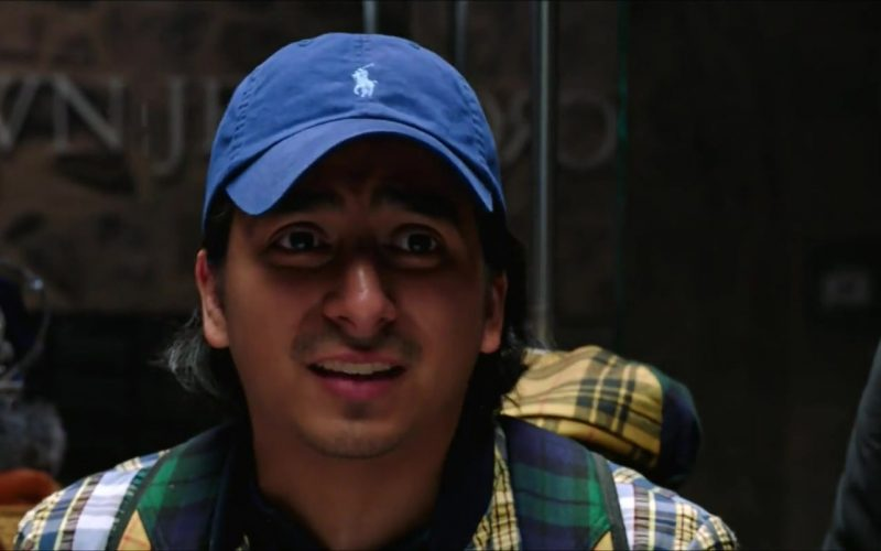 Ralph Lauren Blue Cap Worn by Tony Revolori in Spider-Man Far From Home (1)