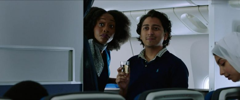 Ralph Lauren Blue Shirt Worn by  Tony Revolori in Spider-Man: Far From Home (2019) - Movie Product Placement