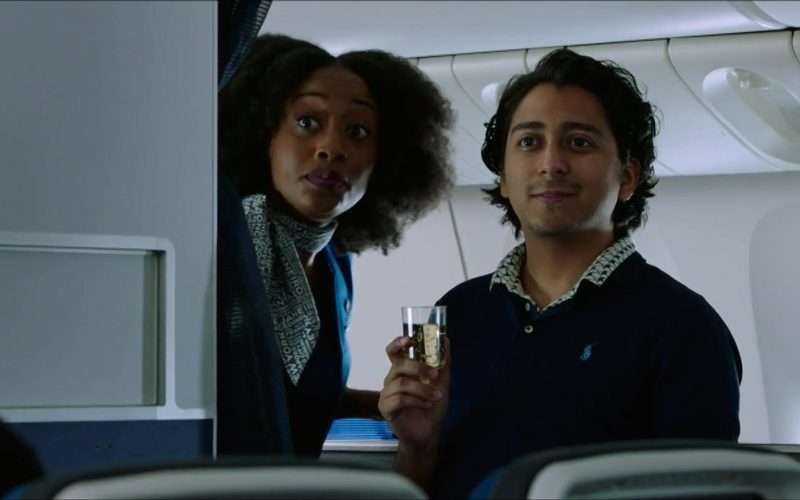 Ralph Lauren Blue Shirt Worn by Tony Revolori in Spider-Man Far From Home (2)