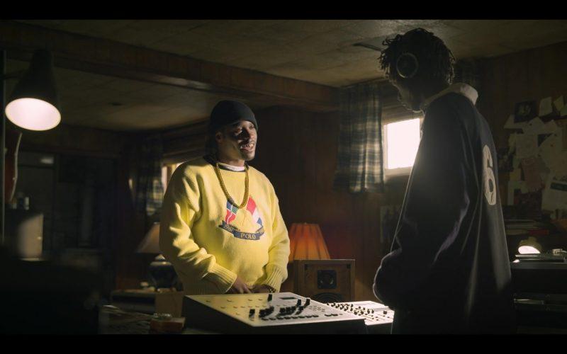 Ralph Lauren Polo Yellow Sweater in Wu-Tang An American Saga (1)