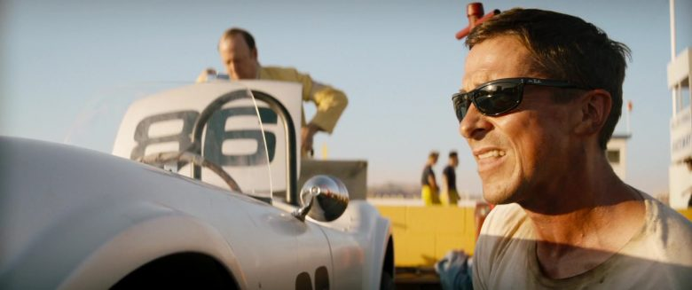 Ray-Ban 4089 Balorama Worn by Christian Bale as Ken Miles in Ford v Ferrari