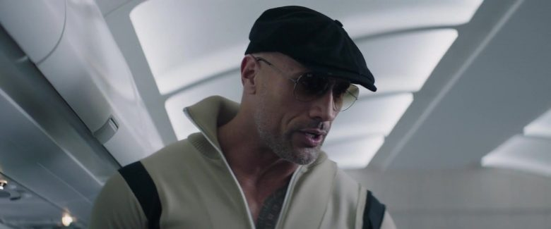 Ray-Ban Aviator Sunglasses Worn by Dwayne Johnson in Fast & Furious Presents: Hobbs & Shaw (2019) - Movie Product Placement