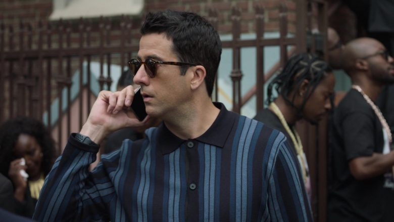 Ray-Ban Sunglasses Worn by Troy Garity as Jason in Ballers - Season 5, Episode 6, Entertainment (2019) - TV Show Product Placement