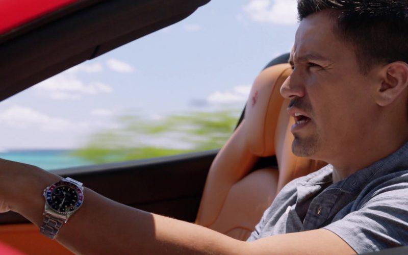Rolex Watch Worn by Jay Hernandez as Thomas Magnum in Magnum P.I.