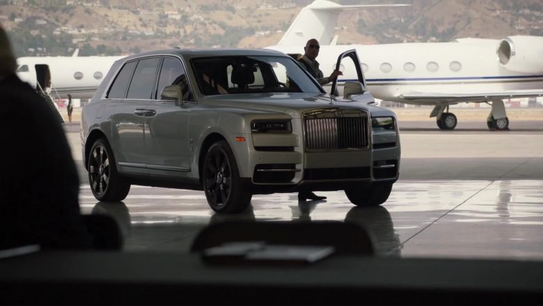 "Rolls-Royce Cullinan SUV Driven by Dwayne Johnson as Spencer Strasmore in Ballers - Season 5, Episode 5, ""Crumbs"" (2019) - TV Show Product Placement"