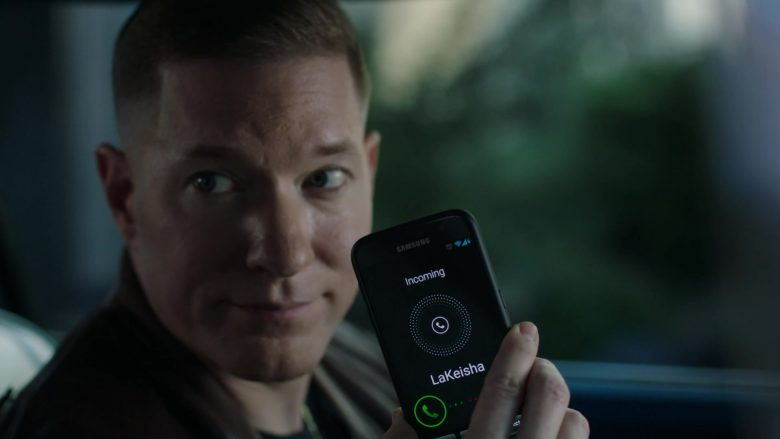 Samsung Galaxy Android Smartphone Held by Joseph Sikora in Power - Season 6, Episode 2, Whose Side Are You On? (2019) TV Show