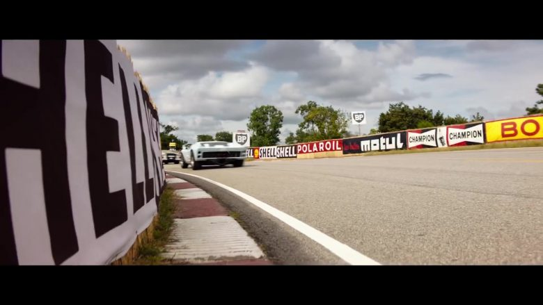 Shell, Motul, Champion, BP in Ford v Ferrari (2019) - Movie Product Placement