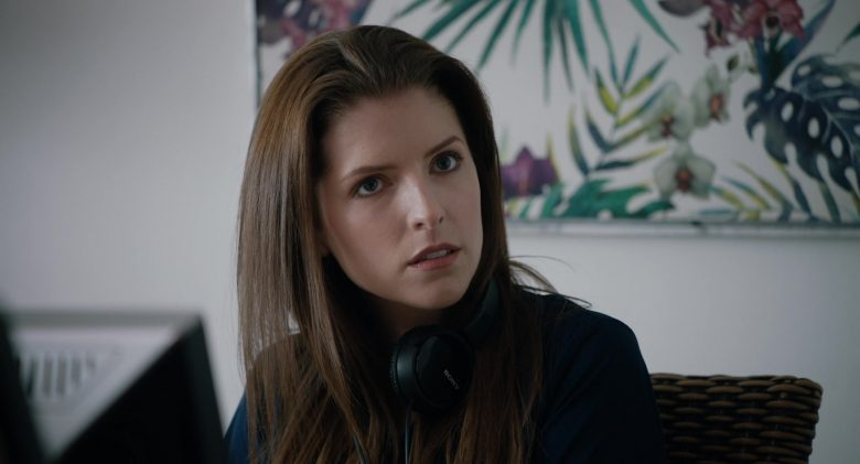 Sony Headphones Used by Anna Kendrick in The Day Shall Come (2019) - Movie Product Placement