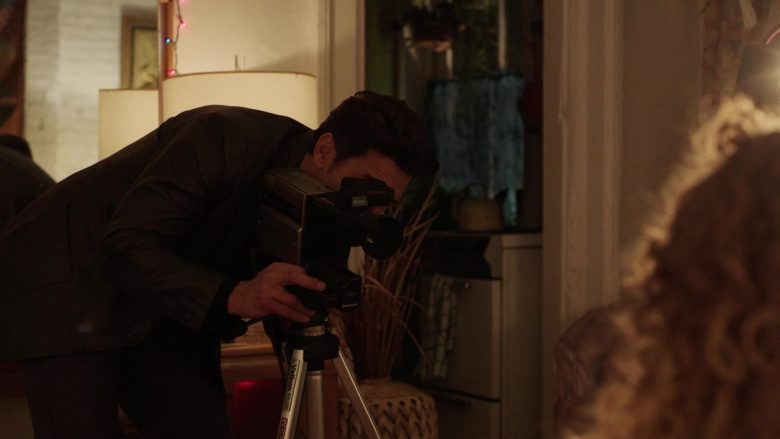 "Sony Video Camera Used by James Franco in The Deuce - Season 3, Episode 1, ""The Camera Loves You"" (2019) - TV Show Product Placement"