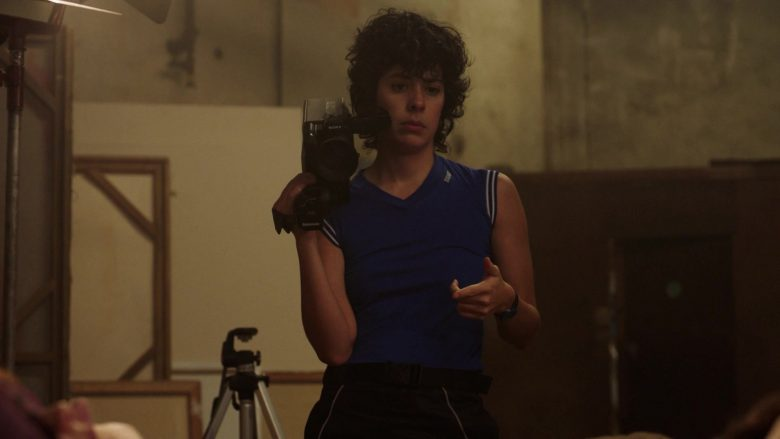 "Sony Video Camera in The Deuce - Season 3, Episode 1, ""The Camera Loves You"" (2019) - TV Show Product Placement"