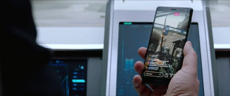 Sony Xperia Smartphones in Spider-Man: Far From Home (2019) - Movie Product Placement