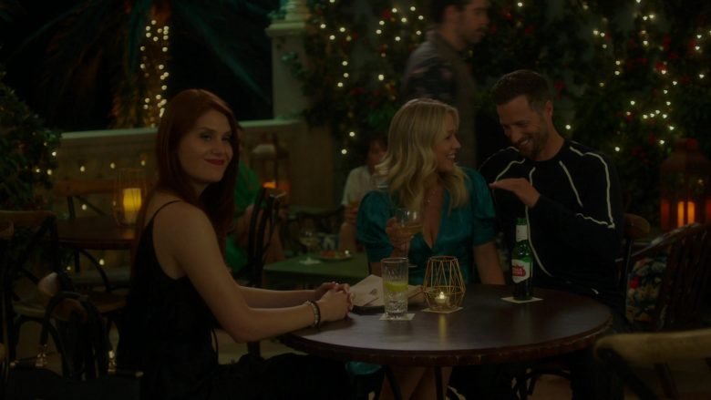 """Stella Artois Beer in BH90210 - Season 1, Episode 5, """"Picture's Up"""" (2019) TV Show"""