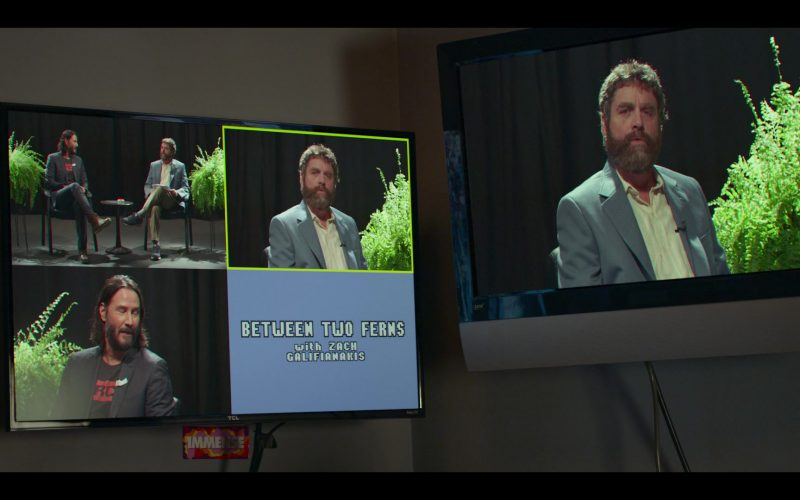 TCL TV in Between Two Ferns The Movie