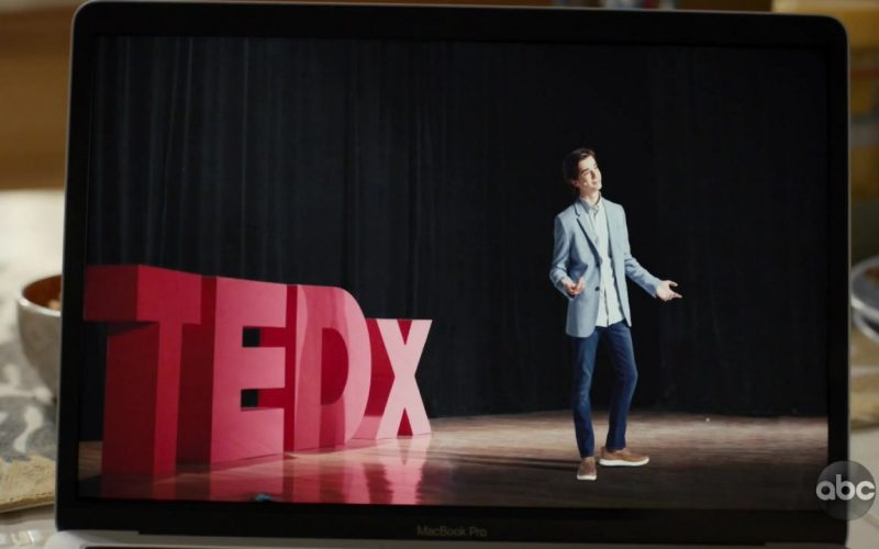 TED Online Video Conference in American Housewife