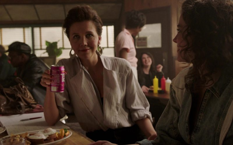Tab Drink Enjoyed by Maggie Gyllenhaal as Eileen 'Candy' Merrell in The Deuce (1)