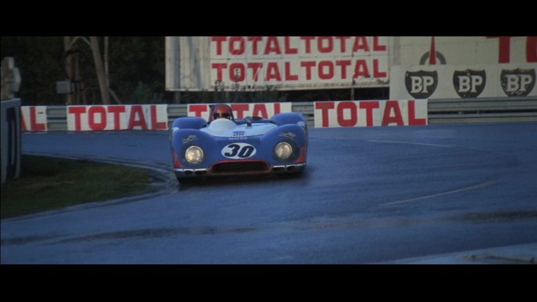 Total and BP in Le Mans (1971) - Movie Product Placement