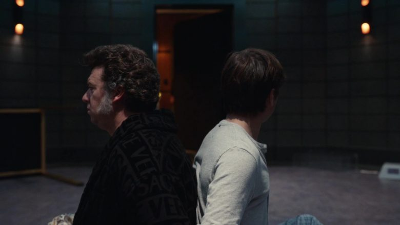 Versace Bathrobe Worn by Danny McBride as Jesse Gemstone in The Righteous Gemstones - Season 1, Episode 7, And Yet One of You Is a Devil (2019) - TV Show Product Placement
