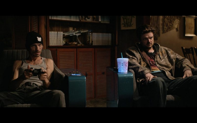 7-Eleven Super Big Gulp Drink Enjoyed by Matt Jones as Brandon Badger Mayhew in El Camino A Breaking Bad Movie (3)
