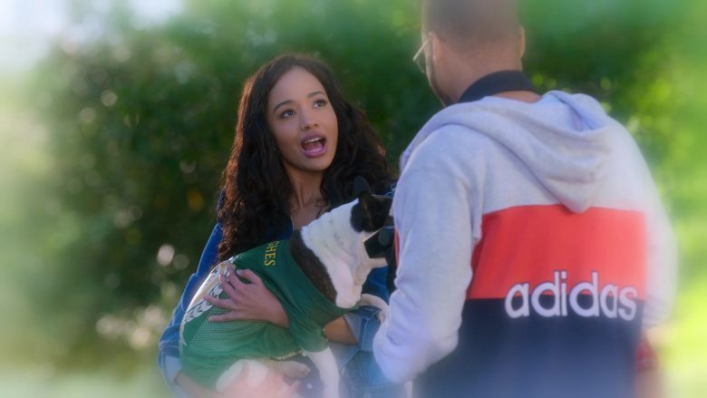 """Adidas Hoodie in Insatiable Season 2 Episode 5 """"Finding Magnolia"""" (2019) - TV Show Product Placement"""