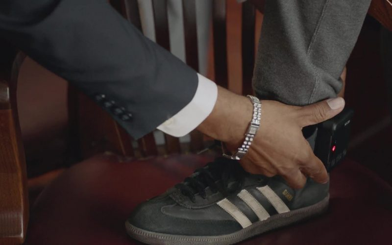 Adidas Samba Black Shoes Worn by Timothy Hutton as Leon Bechley in Almost Family (2)