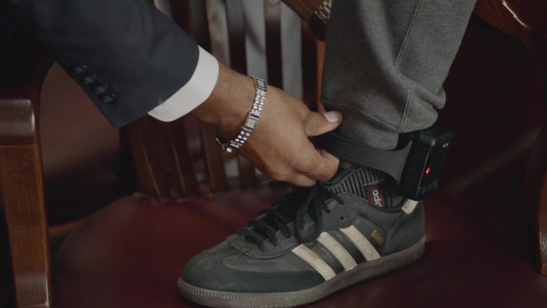 Adidas Samba Black Shoes Worn by Timothy Hutton as Leon Bechley in Almost Family (3)