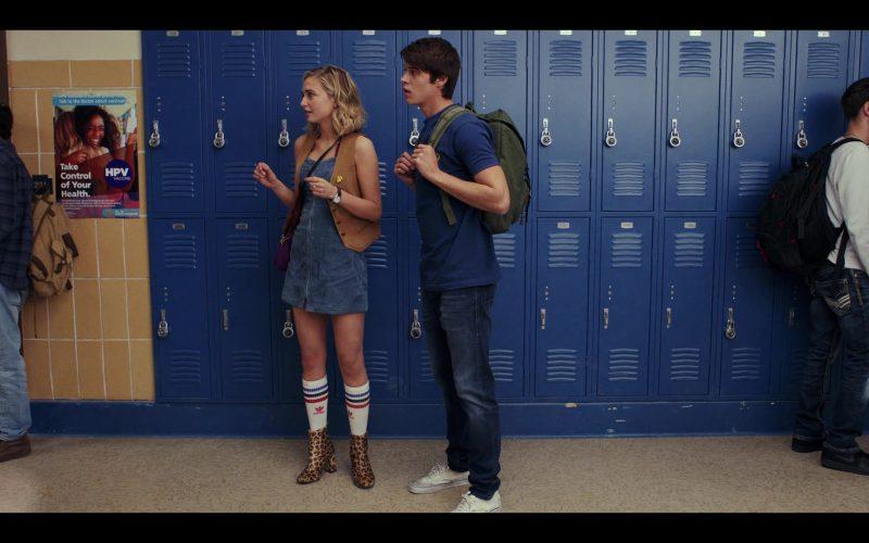 Adidas Socks Worn by Sophie Simnett as Samaira Dean in Daybreak Season 1 Episode 1