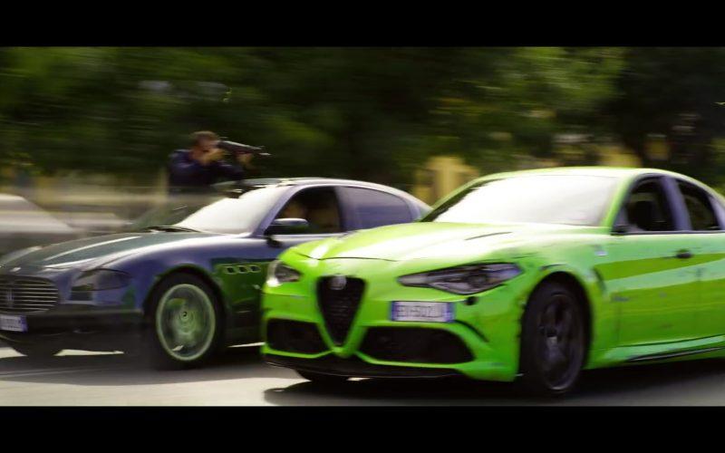 Alfa Romeo Neon Green Car in 6 Underground (1)