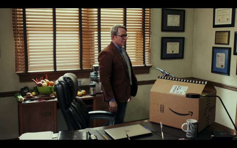 Amazon Box Used by Matthew Broderick as Michael Burr in Daybreak Season 1 Episode 4 (1)