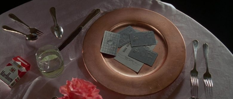 American Express Cards and Marlboro Red Cigarettes in American Psycho