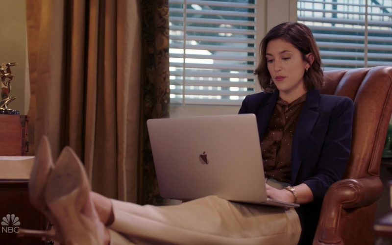 Apple MacBook Laptop Used by Caitlin McGee as Sydney Strait in Bluff City Law Season 1 Episode 3 (1)