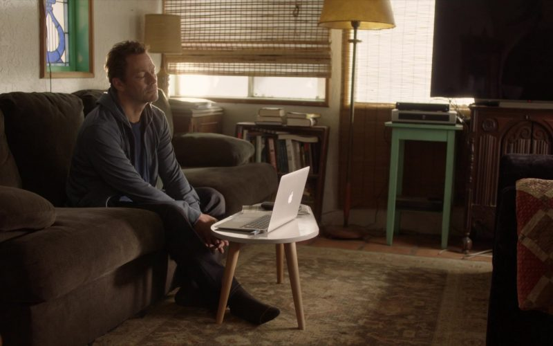Apple MacBook Laptop Used by Dominic West as Noah Solloway in The Affair Season 5 Episode 10