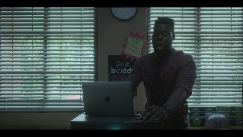 Apple MacBook Laptop Used by Donald Paul as Mr. Anthony Fry in Raising Dion (2)