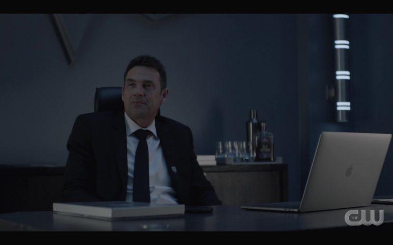 Apple MacBook Laptop Used by Dougray Scott as Jacob Kane in Batwoman