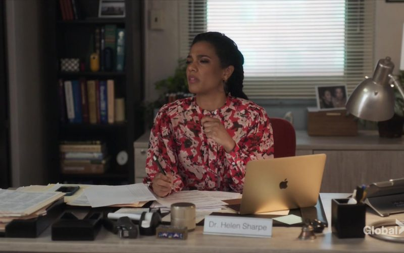 Apple MacBook Laptop Used by Freema Agyeman as Dr. Helen Sharpe in New Amsterdam
