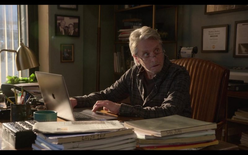 Apple MacBook Laptop Used by Michael Douglas in The Kominsky Method Season 2 Episode 3