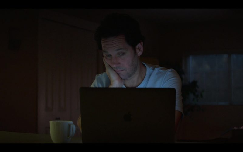 Apple MacBook Laptop Used by Paul Rudd as Miles Elliot in Living with Yourself Season 1 Episode 4 (1)