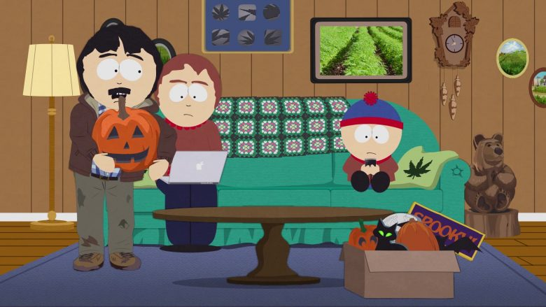 """Apple MacBook Laptop Used by Sharon Marsh in South Park Season 23 Episode 5 """"Tegridy Farms Halloween Special"""" (2019) - TV Show Product Placement"""