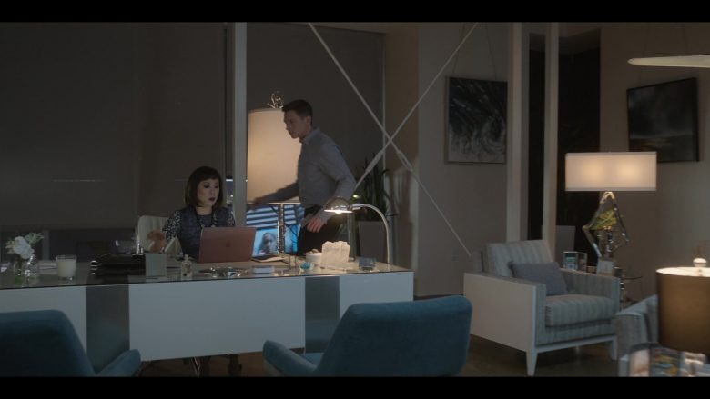 Apple MacBook Pro Laptop Used by Ali Ahn as Suzanne Wu in Raising Dion - Season 1, Episode 7, Issue #107: Why So Vomity? (2019) - TV Show Product Placement