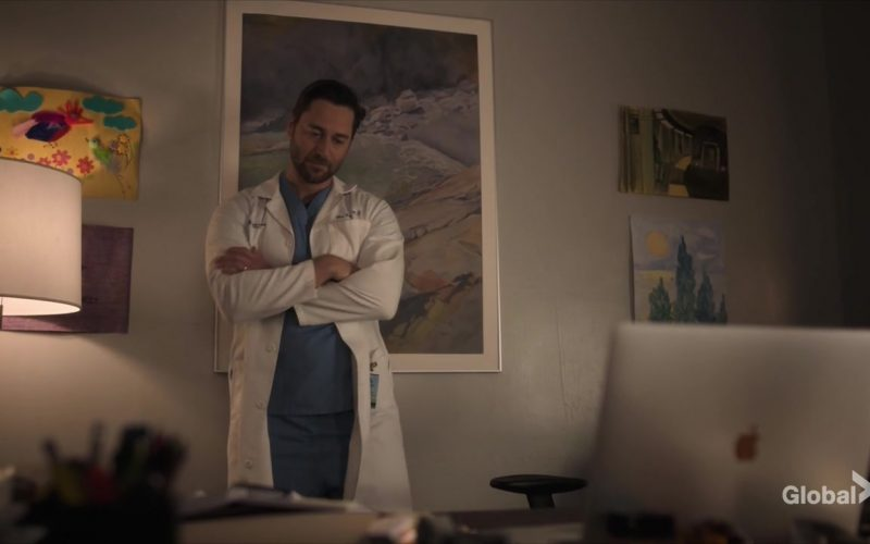 Apple MacBook Pro Laptop Used by Ryan Eggold as Dr. Max Goodwin in New Amsterdam