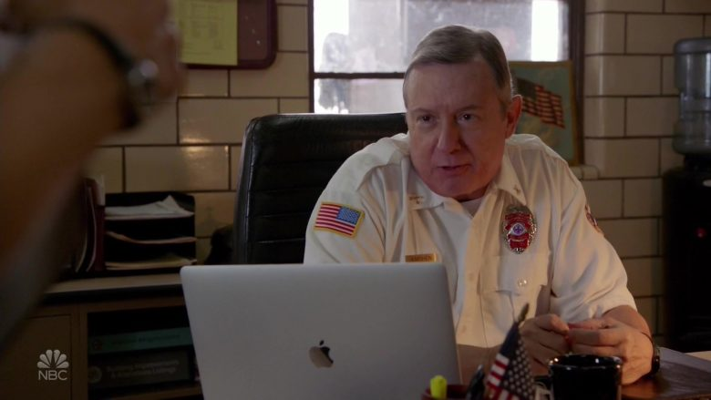 Apple MacBook Pro Laptop in Chicago Fire - Season 8, Episode 2, A Real Shot in the Arm (2019) - TV Show Product Placement