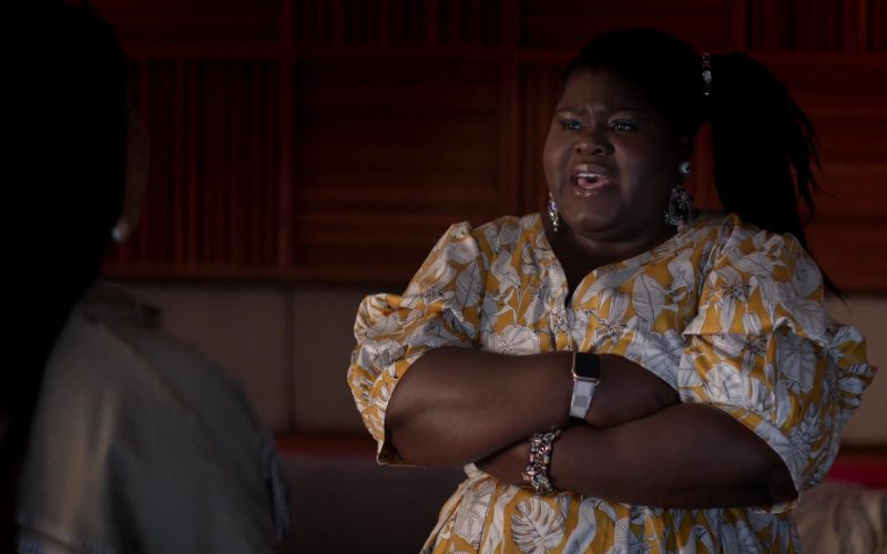 Apple Watch Smartwatch Worn by Gabourey Sidibe as Rebecca Becky Williams in Empire Season 6 Episode 3